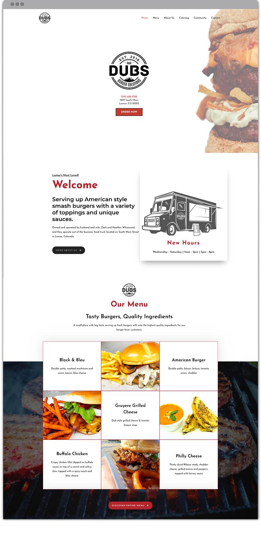 dubs online ordering